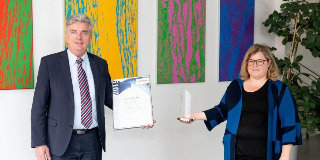 Supplier of the Year: HUECK FOLIEN Wins Recognition