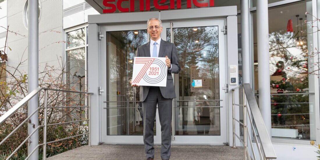 Runder Geburtstag: Die Schreiner Group wird 70