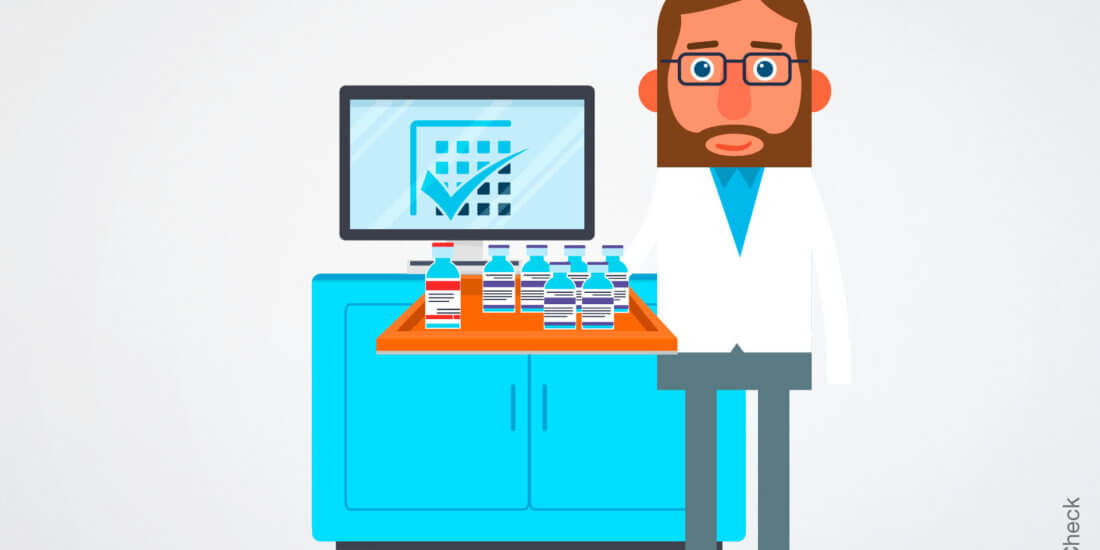 Medikamente effizient managen: RFID-Labels und Kit Check