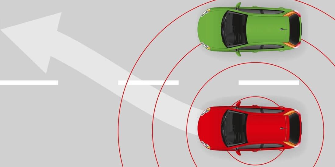 Sichereres Manöver: Radar-Spurwechselassistent statt toter Winkel